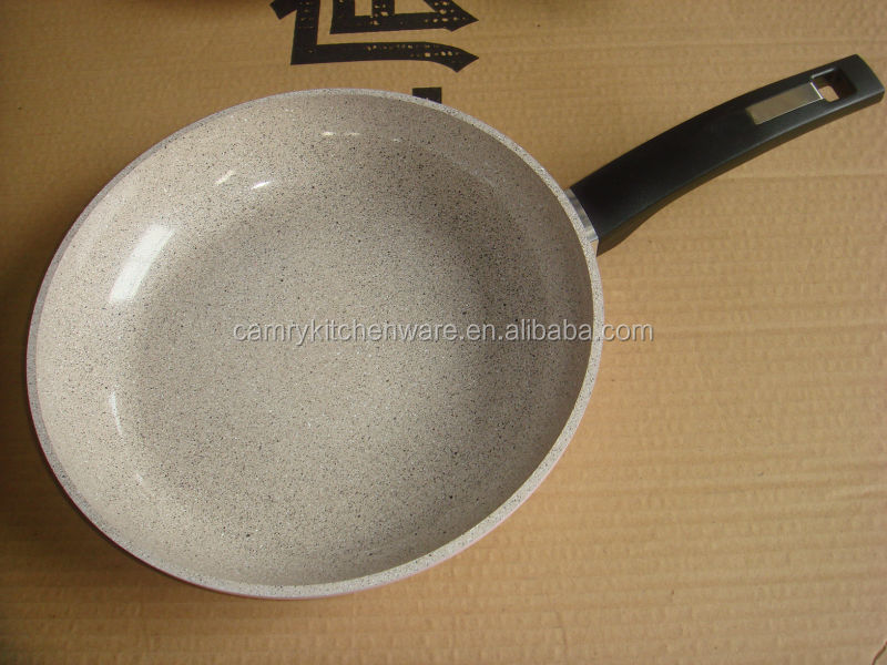 High quality marble coating fry pan