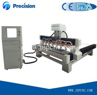 new multi head cnc lathe engraving cutting machine for 3d wood acrylic/large working size/cnc router