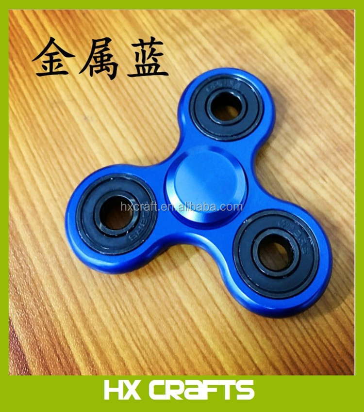 2017 Hot Selling Bearing Fidget Relieves ADHD Anxiety Boredom EDC Spinner Fidget Toys Hand Spinners