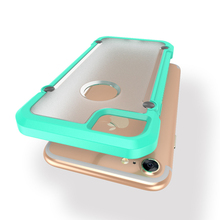 Unique Simple 2 in 1New Rugged Armor Hybrid TPU Case Cover For iphone 7 7plus