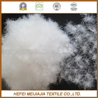 Hot sale washed white duck feather 2-4CM cheap fill