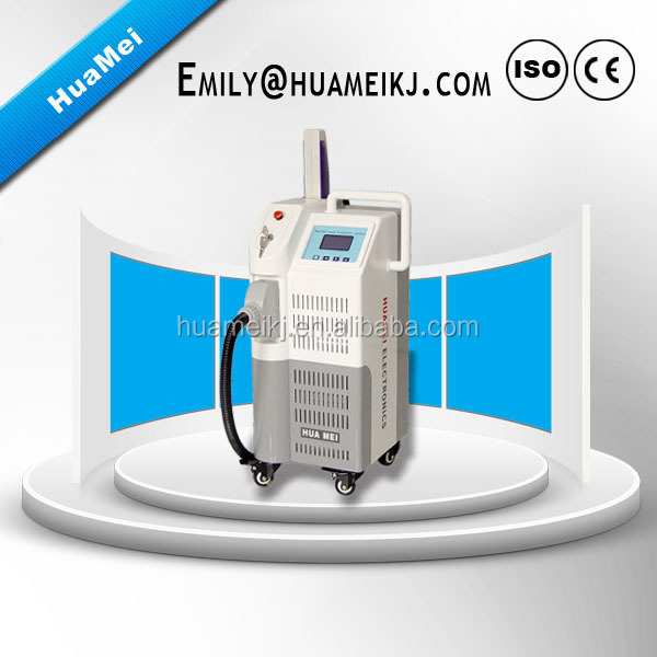 Super popular vertical 1064 532 585 650 q switch nd yag laser for tattoo removal