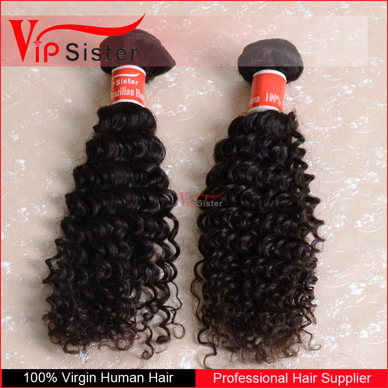 Wholesale bleachable dyeable top grade 8A 100% virgin brazilian hair deep wave human hair very good price