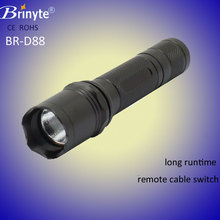 IP66 Tactical head red flashlight lens Cree led hunting flashlight