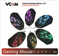 VCOM 6D Laser Mouse for Gaming Mouse LED Gaming Optical Mouse