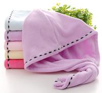 Soft Microfiber Bath Hat Hair Dry Towel Cap,Drying Turban Wrap,Hair Dry Quick Dryer Bath Salon Towels