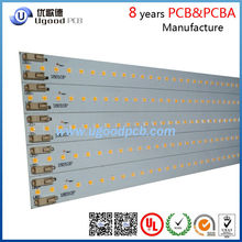 High quality 1.5m led pcb manufacturer,led pcb assembly,pcb for led tube with180lm/w,CE,UL,ROHS.