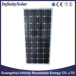 12v chinese cheap price solar panel 150w with TUV,UL,CE,ISO