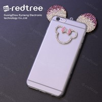 factory price diamond crystal phone case for brand mobiles