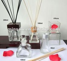 Various Glass Bottle Air Freshener for Home Fragrance Reed Diffuser