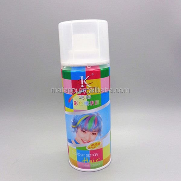 Aerosol hair spray dust free hair bleaching powder