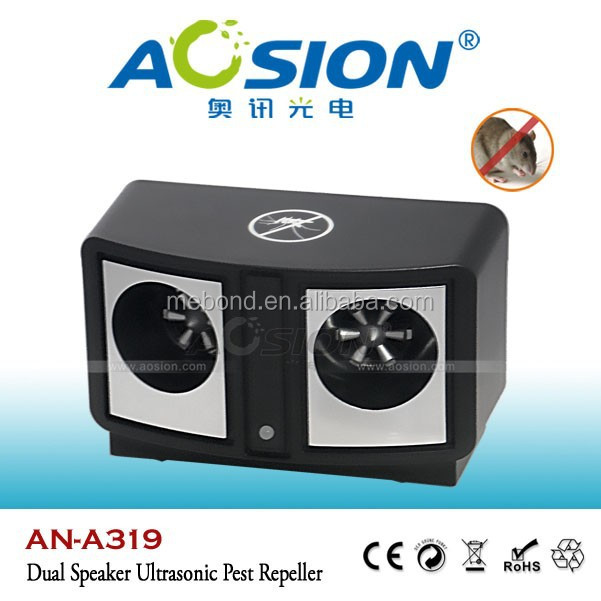 Aosion Dual Speaker Ultrasonic And Electronic dual sonic pest repeller