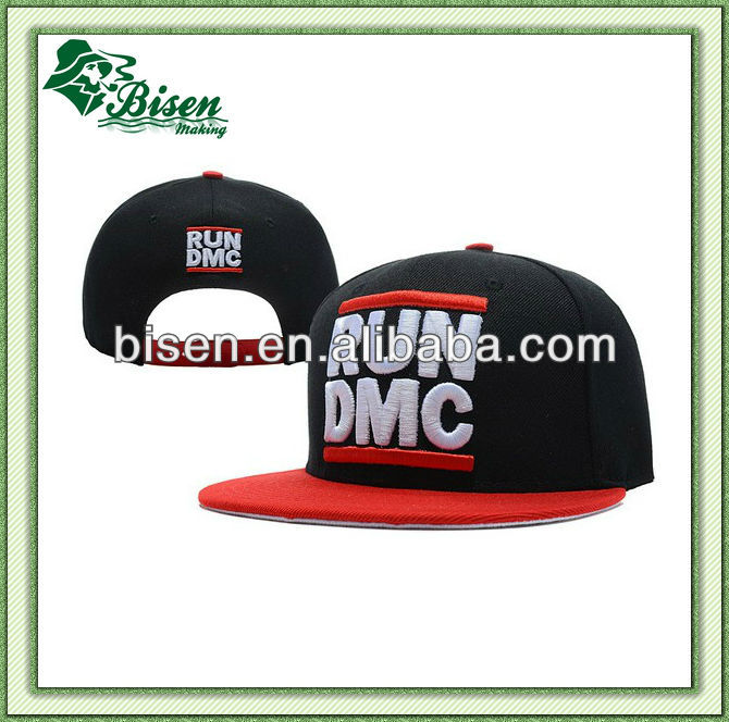 Hot Sale Custom Made Embroidery Logo Snapback Baseball Cap and Hat