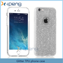 New Style mobile phone glitter back case cover for samsung galaxy j5 2016