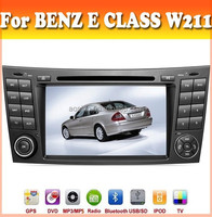 car dvd gps for MERCEDES BENZ E CLASS W211 2002-2008 car radio audio with gps navigation