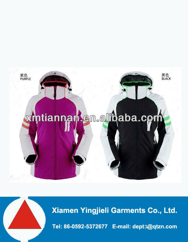 Ski jacket/crane sports/waterproof nylon one piece ski suit