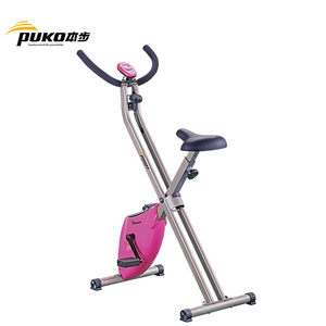 Modern design fitness magnetic resistance exercise bicycle quiet home equipment trainer brands