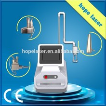 New product scar removal /wrinkle removal fractional laser co2 precise/rf tube laser machine