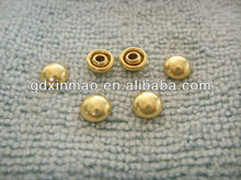 7MM brass dome jeans rivet without Logo UNIVERSAL BUTTON TYPE