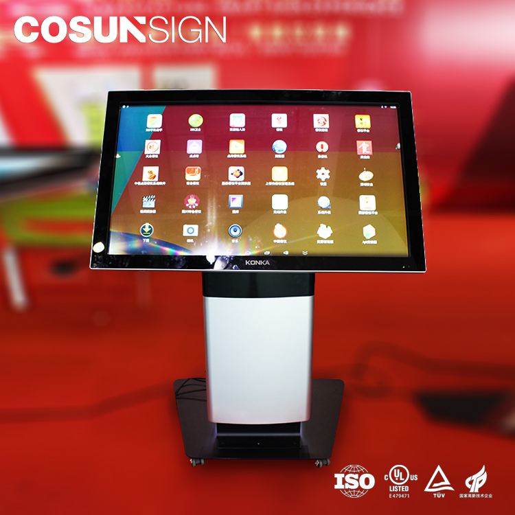 wifi touchscreen android bus ticketing totem interactive size medical kiosk machine