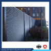 Durable aluminium fence slats