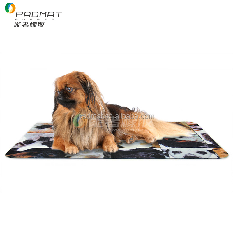 Small Eco ground mats for pets, custom pet mats