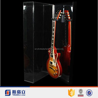 Hot sale cheap wholesale handamde pop style high quality acrylic guitar display case