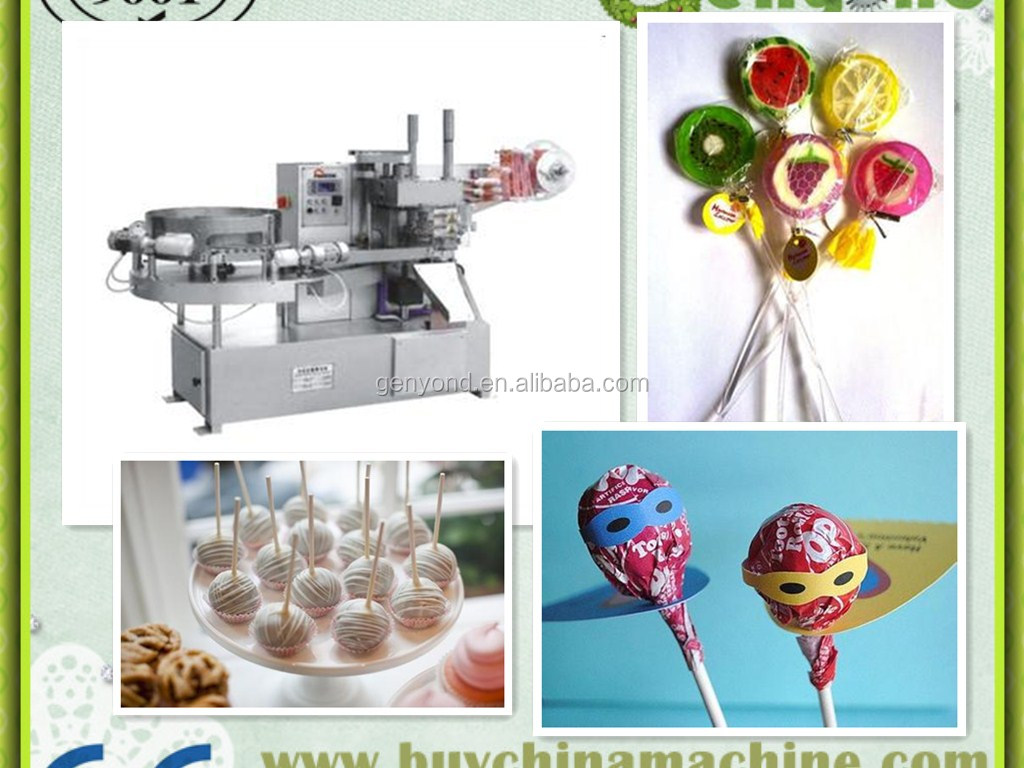 full automatic lollipop candy forming machine