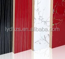 Acrylic Sheets with wood grain finish