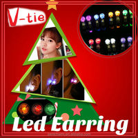 High quality led earring party primitive christmas craft
