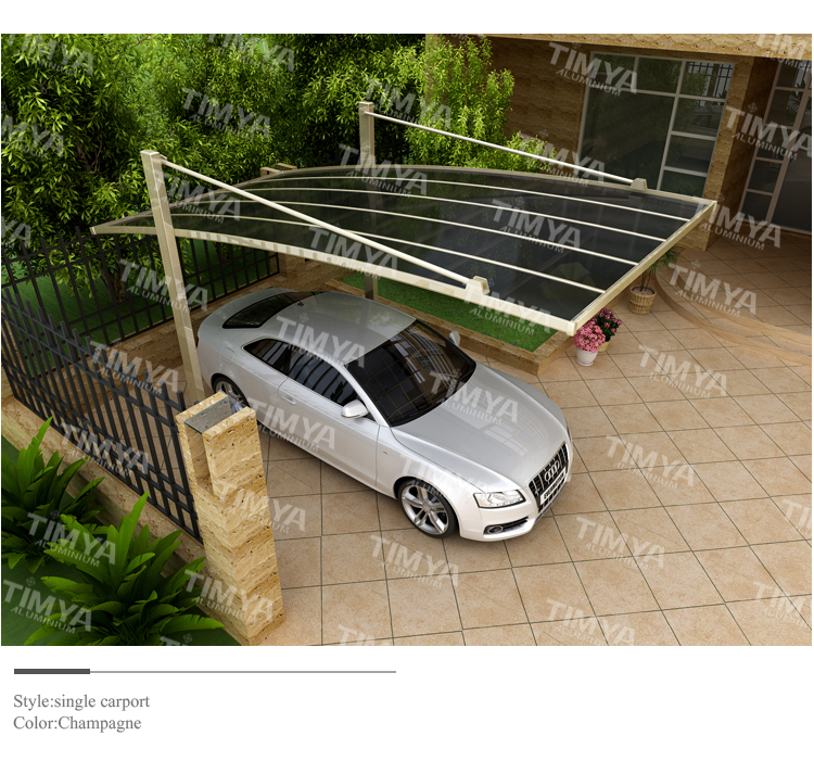 Cheap china roofing materials garage canvas carport canopy for Garage roofing options