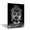 High Quality Black And White Buddha Painting Canvas Wall Art For Modern Home Decor
