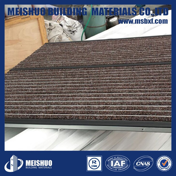 China Best Price Entrance Dust Control indoor matting systems