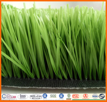 W shape 50mm PU backing artificial grass for football