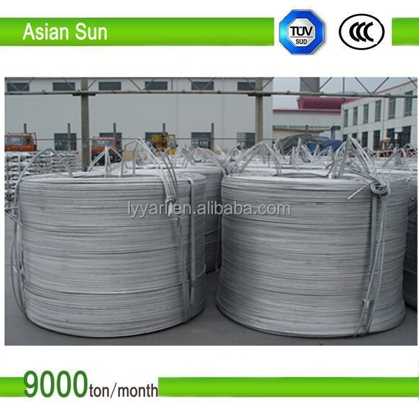 ISO Standard Bare 1350 Type 9.5mm Aluminum Wire Rod for Cable