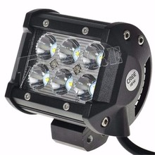 4 Inch EMC LED 4D High Lumen 18W Cheap LED Driving Offroad Light Bar In China