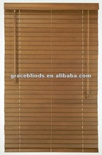 Fashionable 1.5''/35mm Wood Timber Venetian Blind Window Treatments