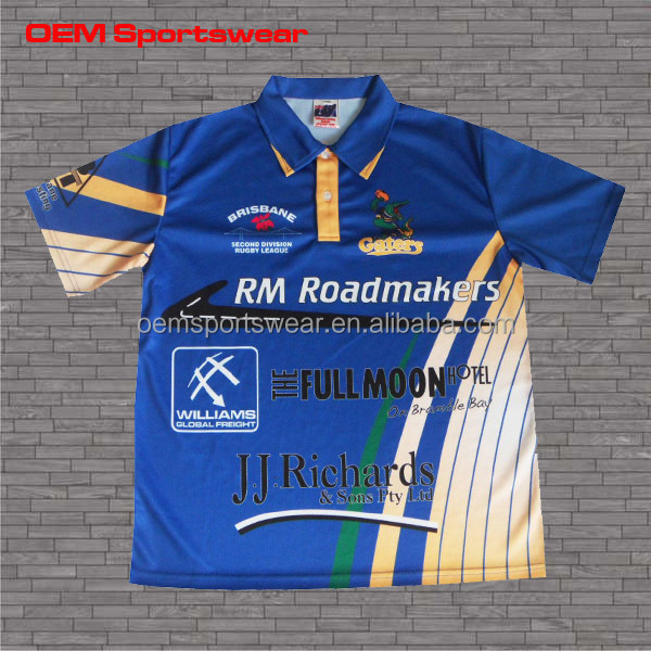 2015 sublimated racing team pit crew shirts