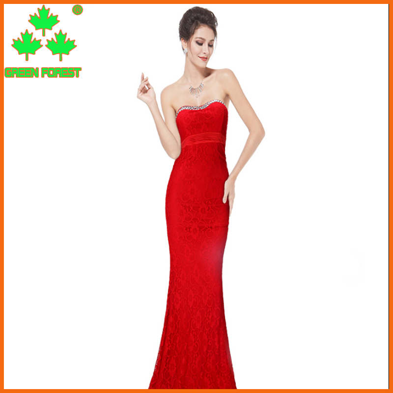 2017 hotsale Women's latest evening Sadie Strapless Sequin Gown