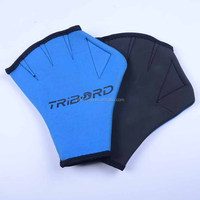 2007 neoprene webbed waterproof swimming gloves