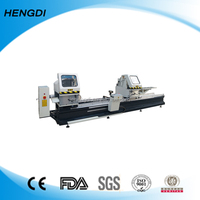 Double Blades Cutting Saw Vinyl Door Machine