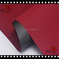 100% polyester anti uv Twill pvc oxford fabric for outdoor canopy /rainshed material /platform awning fabric