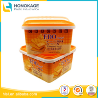 Large Plastic Box Include Bucket Handle with Lid, Plastic Container Price Cheap