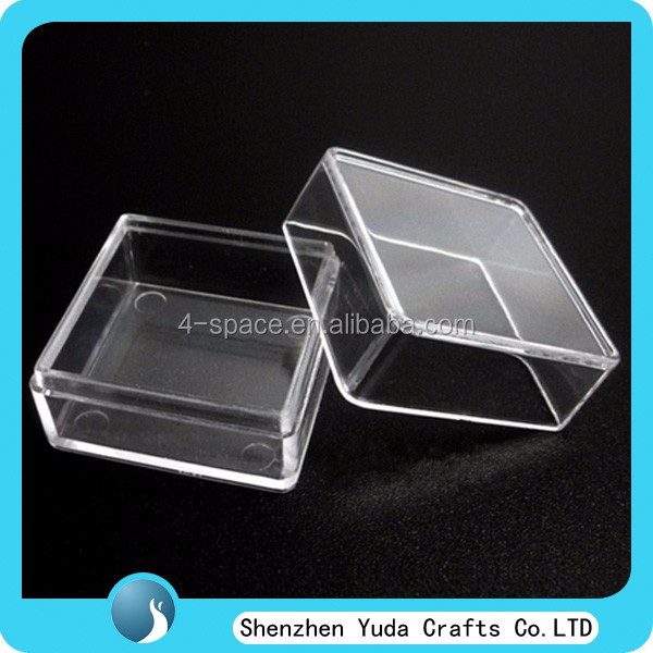 transparent plastic false eyelash storage package box