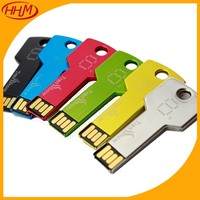 new products bulk cheap Promotional USB/4GB 8gb 16gb 32gb 64gb USB key Chain/Metal car key shape USB flash drive with OEM LOGO