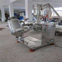 industrial lab flour powder blender mixer machine