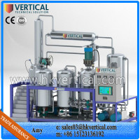 VTS-PP Vertical PLC Control Waste Engine Oil Recycling Plant