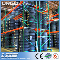 Warehouse Teardrop Pallet Rack Wire Deck With CE Certification
