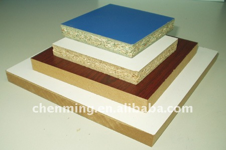 Melamine faced E0/E1/E2 MDF/HDF wood panels