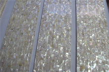 pure white freshwater shell mosaic/ wholesale pearl oyster shell mosaic tile manufacturer